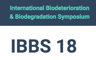 The 18th International Biodeterioration and Biodegradation Symposium (IBBS18)