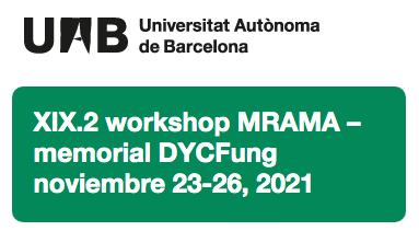 XIX.2 Workshop sobre Métodos Rápidos y Automatización en Microbiología Alimentaria (MRAMA) – memorial DYCFung